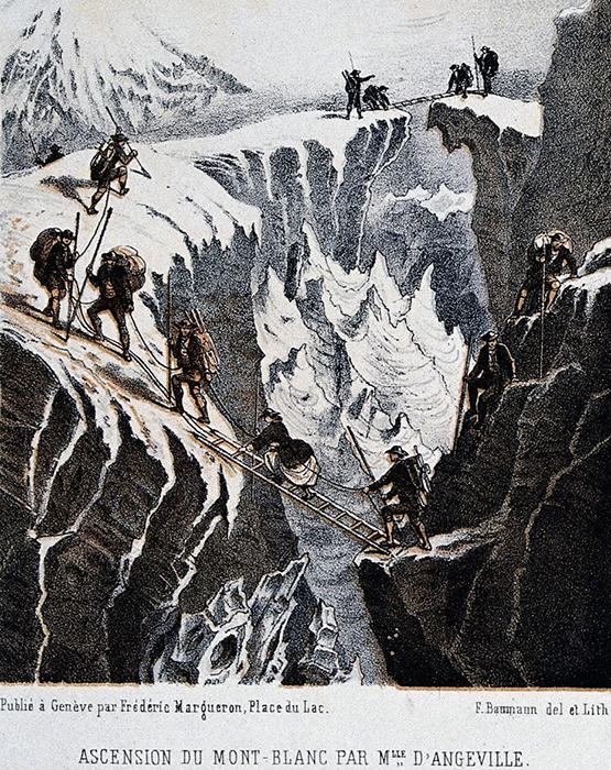 Восхождение на Монблан Генриетты д'Ангвилл.