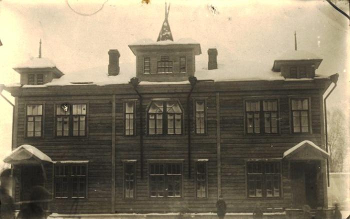 Местечко Дубровно, Белорусская ССР, 1925 год.
